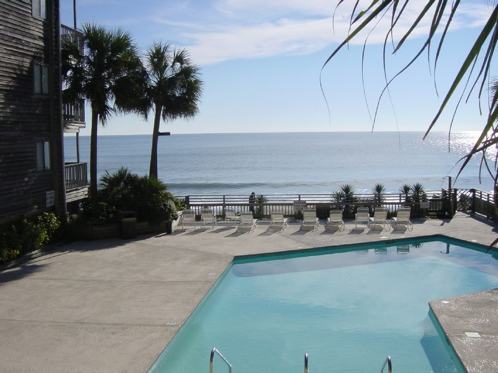 Garden City Condo Rentals Sea Master 111 Beautiful Oceanfront Resort Condo 3 Bed Bath In