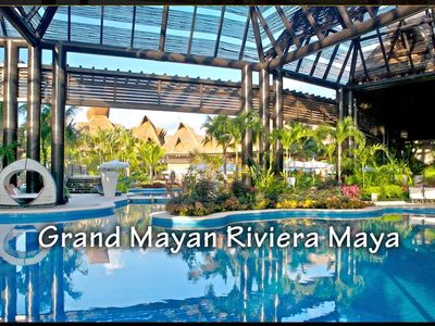 Photo for Welcome to The Grand Mayan Riviera Maya - Enjoy 5 star comfort.