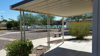 Photo for Delightful 2-BR/2-BA Getaway Nestled In One Of Sun City's Lake Communities!