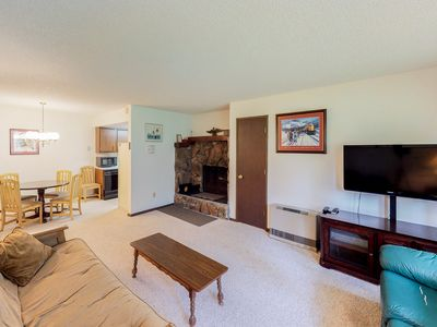 Photo for NEW LISTING! Cozy condo w/great downtown location near biking, shopping, dining