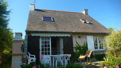 Photo for Saint Malo - Pretty well equipped villa, ideal for 8 people, very close to sea..