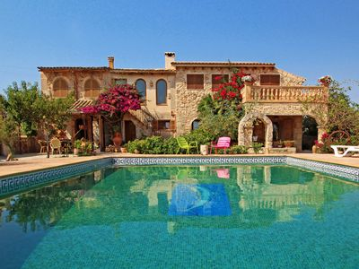Photo for Villa Can Juanito - LOVELY - AirCond - Wi·Fi - Country house for 10 people in Porto Cristo