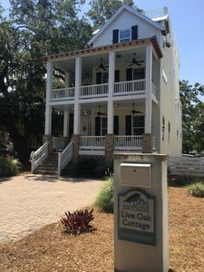 Photo for Live Oak Cottage Steps From Beach, Crab Trap, Crab Daddies, Beachcomber and