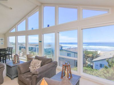Photo for Spacious Ocean View Hm in Road's End, Close to Beach, Great Amenities!