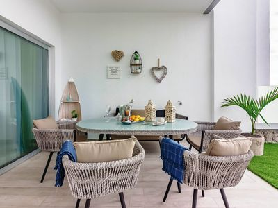 Photo for Deluxe 2 bedrooms with chillout terrace