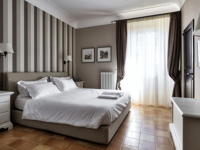 Photo for Superior Double Room on the main floor of the Villa Teloni