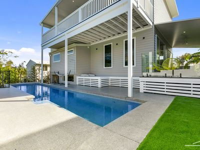 Photo for 43 KESTREL - ocean breezes, views, pool, pet friendly and perched above the trees.