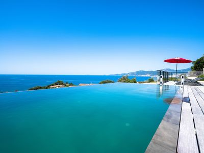 Photo for Luxury villa on the bay of Ajaccio