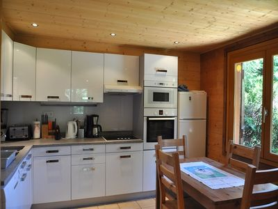 Photo for Individual chalet situated in the area of La Ville du Nant. Just 20 meters from a shuttle stop you c
