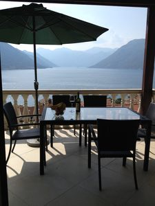 Photo for Luxury Penthouse Apartment, Stunning Views Of Kotor Bay, Shared Pool, WiFi
