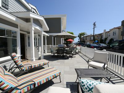Photo for Renovated Balboa Island 4 houses to Bay and close to Main. SUPS, Bikes & Kayaks!
