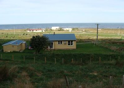 rear of house looking out to sea...