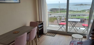 Photo for T1 Duplex Apartment with breathtaking views of the ocean