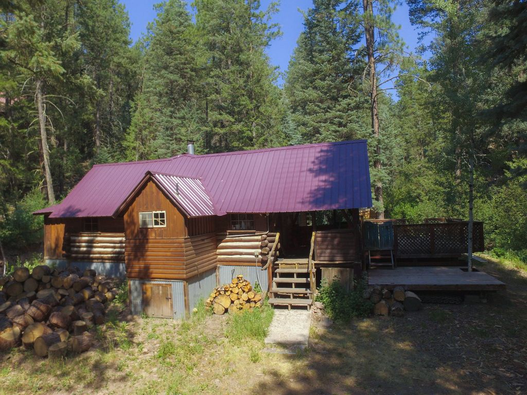 cabin eclectic artist pagosa house holiday rental springs s cabins