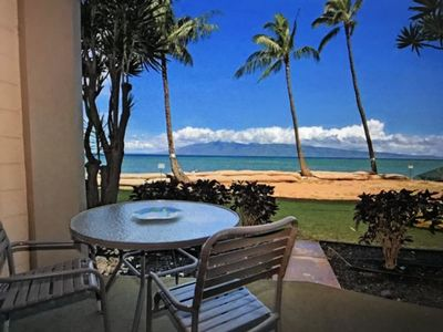 Photo for Ocean Front Studio Condo - Ground Floor, Walk Out Of The Unit And Onto The Beach