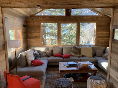 Photo for Luxury chalet, guaranteed mountain atmosphere