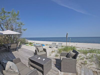 Photo for Sea Side Beach House North Fork Vineyards Hamptons low monthly rate inquire!