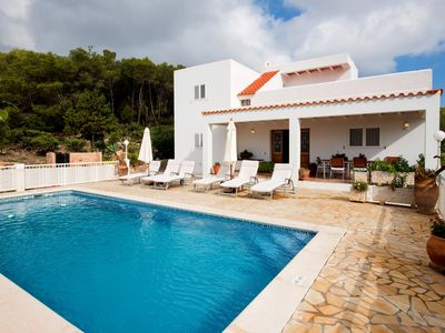 Photo for Villa Es Socorrat with pool, ping pong and garden