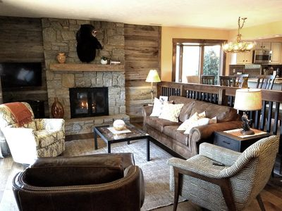 Photo for Fully renovated in Chetola Resort w/ all amenities, walk to Main St Blowing Rock