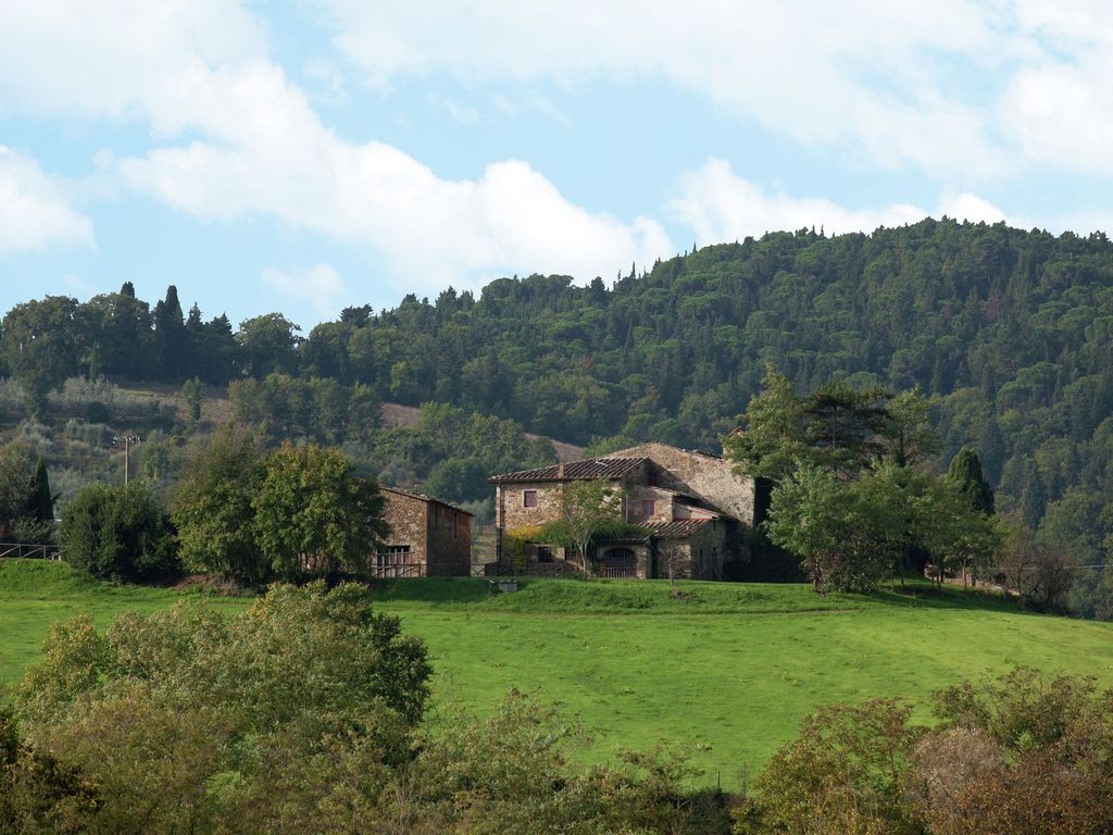 Cosy And Comfortable Apartment With Swimming Pool In The Chianti Region Greve In Chianti