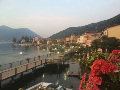 "Photo for Palazzo ""PATRICIA"" directly on Lake Lugano, Lugano, Porto Ceresio."