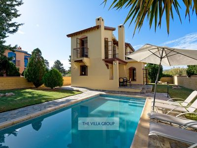 Photo for Latchi Villa, Sleeps 4 with Pool, Air Con and WiFi