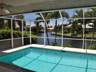 Photo for Waterfront home w/ heated pool, walk to beach!  Just Renovated!!!