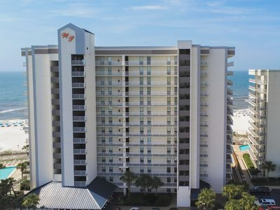 Photo for NEW LISTING! Gulf front condo w/ shared pools, hot tub, tennis, & fitness room!