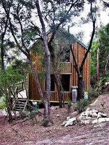 Photo for Albie's cottage: Cute secluded timber home on a bush block by the sea