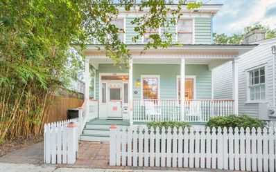Photo for Stay with Lucky Savannah: Two-Level Cottage w/ Private Veranda, Easy Parking!