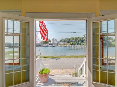 Photo for NEW LISTING! Delightful waterfront home w/views near golfing, fishing & beach