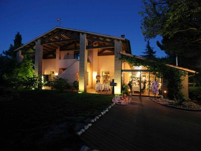 Photo for AGEREURISMO TRERE ': between the Sangiovese vineyards with pool and spa