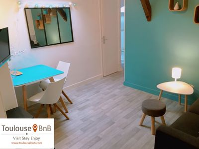 Photo for 2BR Apartment Vacation Rental in Toulouse, Occitanie