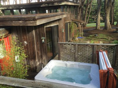 Photo for Chapman Point Cottage- lavish simplicity across the bay from Mendocino