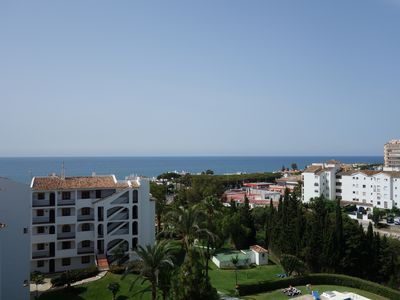 Photo for Penthouse 250 meters from the sea between Marbella - Malaga, private terrace of 50 sqm
