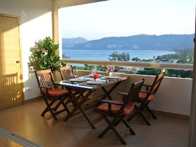 Photo for Beautiful 2 Bed Patong Seaview Apartment