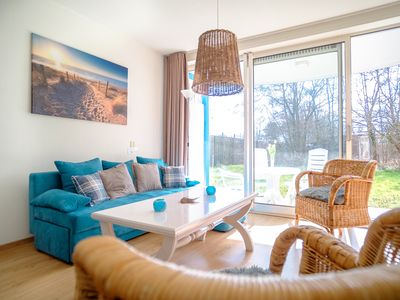 Photo for Nice, sunny and beachy style apartment., Renovated (2018) 700 m.  from the dune