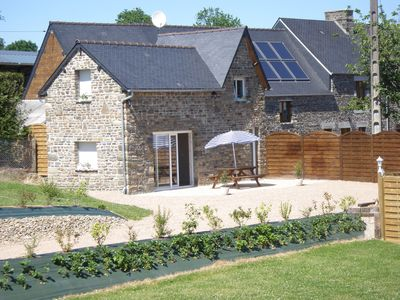 Photo for comfortable cottage in a quiet calvados with heated swimming pool