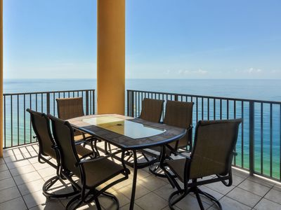 Photo for Balcony on the Beach! 3 BR 4 BA - Get a FREE Night!