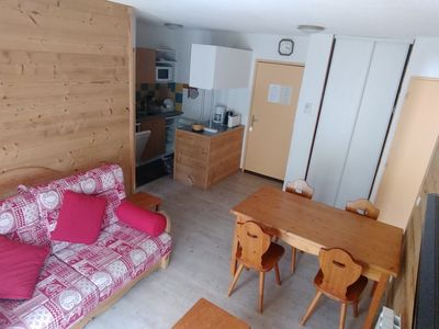 Photo for Le corbier beautiful apartment 6 people at the foot of the slopes