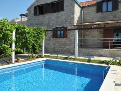 Photo for Holiday house Povlja for 1 - 10 persons with 4 bedrooms - Holiday house