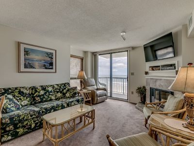 Photo for 5th Floor Oceanfront Condo, Gorgeous View, Indoor Pool | Waterpointe II - 501