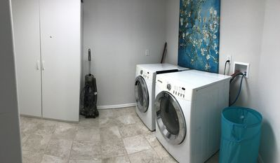 Private on suite laundry