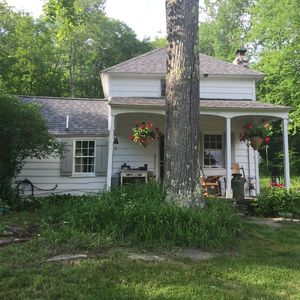 Photo for Odd West Acres - Cottage On 40 Acre Wooded Parcel With Swimming Pond!