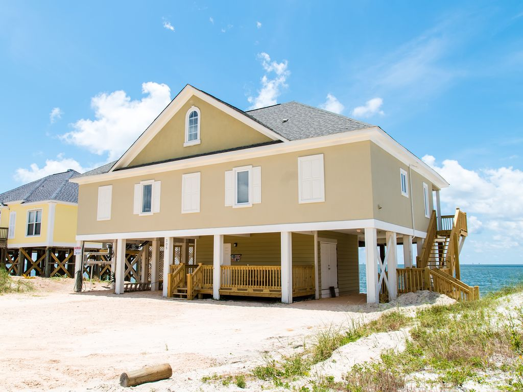 Beach House On Gulf Of Mexico Room For Vrbo