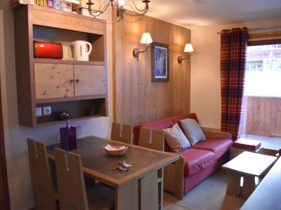 Photo for 3Apartment 4* - Pool - Sauna - Wifi - Fully equipped - At the ski slopes