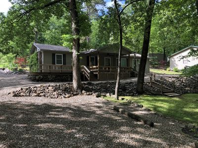 Photo for 3 Bedroom Cottage on the Lake Quiet Subdivision Boat Ramp and Dock Available