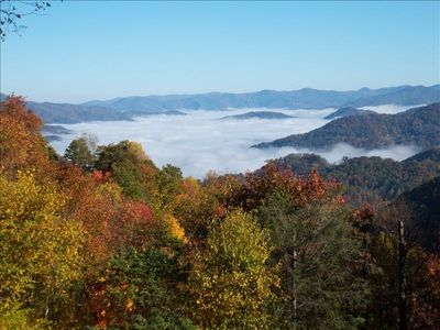 Photo for Relax at 4100 Ft - Views of Smoky Mountain National Park