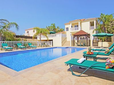 Photo for CLEOPATRA  - 4bed Villa with large pool located in Ayia Napa Hills