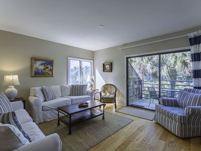 Photo for Beautiful, New, View of Lagoon, End Unit, Lots of Light,Short Walk to Beach, 2BR